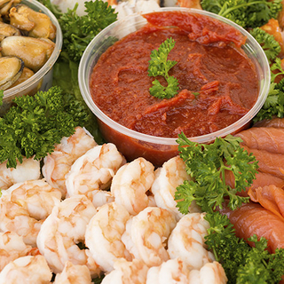 Seafood Trays Category Image