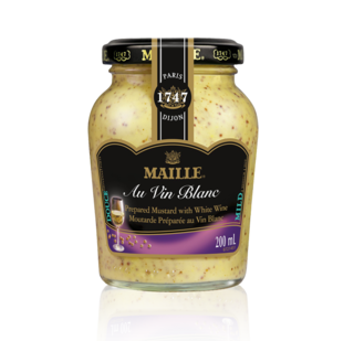 Maille  White Wine Dijon Mustard Product Image