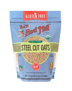 Bob's Red Mill - Gluten Free Organic Steel Oats  Product Image