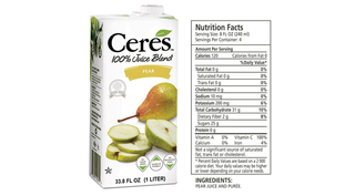 Ceres - Pear Juice 1L Product Image