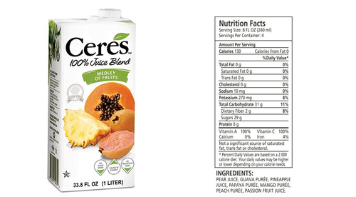 Ceres - Medley of Fruits - 1L Product Image