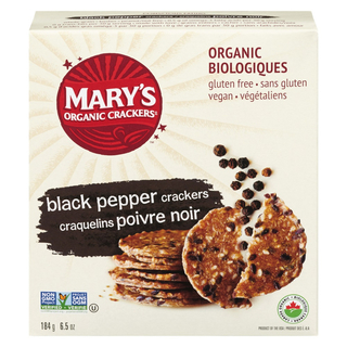 Mary's - Black Pepper - 184g Product Image