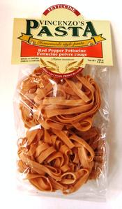 Vincenzo's Pasta-  Fettuccine Red Pepper   Product Image