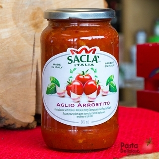 Sacla Pasta Sauce - Roasted Garlic Product Image