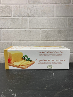 Barrie's Asparagus - Barrie's CrackedWheat Crackers 198g Product Image