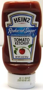 Tomato Ketchup Reduced Sugar Heinz Product Image