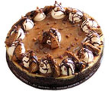 Carmel Pecan Fudge Cheesecake Product Image