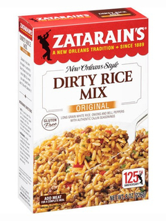 ZATARAIN'S® Dirty Rice Mix, Original  Product Image
