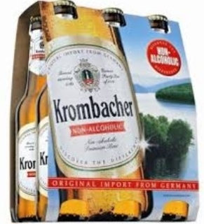 Krombacher Non-Alcoholic German Beer Product Image