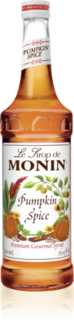 Monin Pumpkin Spice Syrup Product Image