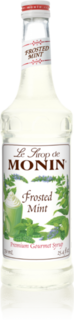 Monin Frosted Mint Syrup Product Image