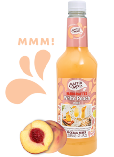Master of Mixes - White Peach Daiquiri Margherita Mix Product Image