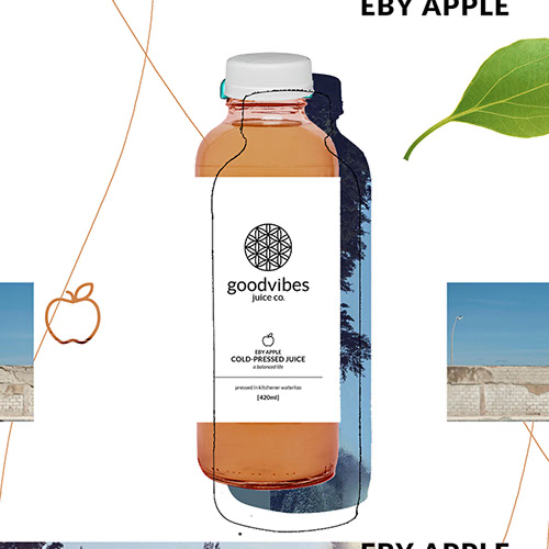 Goodvibes Juice Co - Eby Apple Product Image