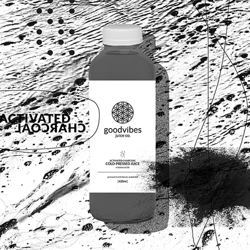 Goodvibes Juice Co - Activated Charcoal Product Image