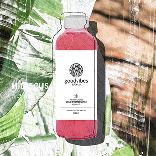 Goodvibes Juice Co - Hibiscus Limeade  Product Image