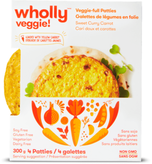 Wholly Veggie - Sweet Curry Carrot Veggie Bites Product Image