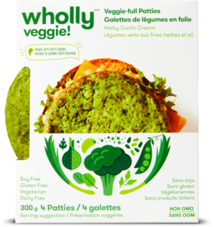Wholly Veggie - Herby Garlic Greens Veggie Bites  Product Image