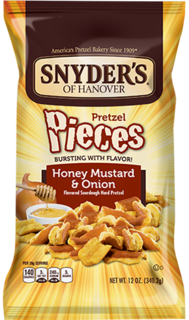 Snyder's - Honey Mustard and Onion Product Image