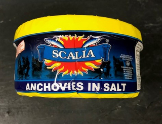 Scalia Anchovies in Salt Product Image