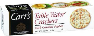 Carrs Water with Cracked Pepper Crackers Product Image