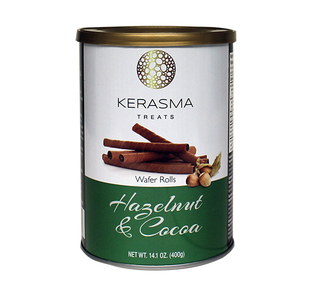 Kerasma - Hazelnut Wafer Rolls  Product Image