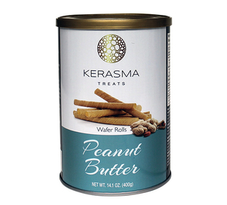 Kerasma - Peanut Butter Wafer Rolls Product Image
