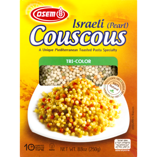 Osem - Israeli Pearl Couscous Tricolour - Box 250g Product Image