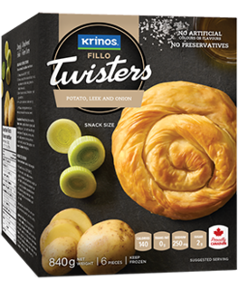 Prepared -  Krinos Vegetable Twister  Product Image