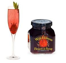Wild Hibiscus Flowers in Syrup Product Image