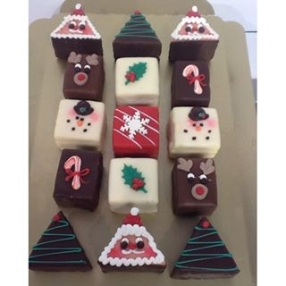 Christmas Petits Fours Assorted Product Image
