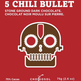 Chocosol - 5 Chili Bullet  Product Image