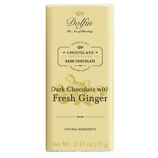 Dolfin - Dark Chocolate with Fresh Ginger  Product Image