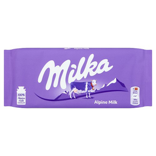 Milka - Alpine Milk  Product Image