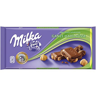 Milka - Whole Hazlenuts Product Image