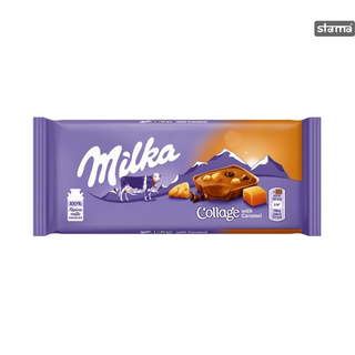 Milka - Collage with Caramel  Product Image