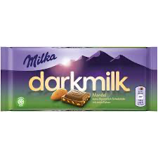 Milka - Dark Milk Almond  Product Image