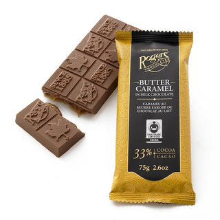 Rogers - Butter Caramel Milk Chocolate Bar Product Image