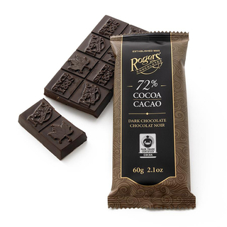 Rogers - 72% Dark Chocolate Bar Product Image