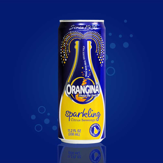 Orangina - 330ml Can - 6 Pack  Product Image