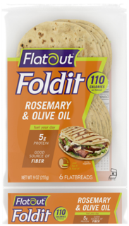 Flatout - Fold it - Rosemary and Olive Oil  Product Image