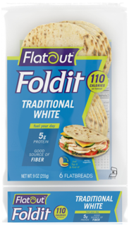 Flatout - Fold it - Traditional White  Product Image