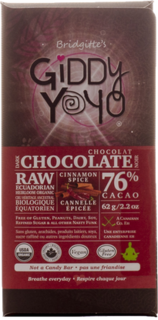 Giddy Yoyo Cinnamon Spice Bar 76% Product Image