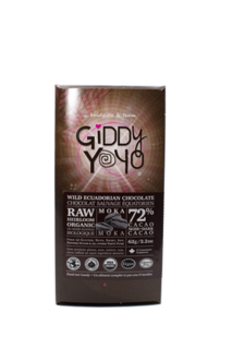Giddy Yoyo Moka Bar 72% Product Image