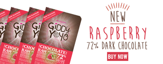 Giddy Yoyo Raspberry Bar 72% Product Image