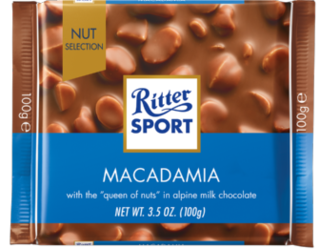Ritter Sport - Milk Chocolate with Macadamia  Product Image