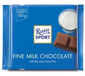 Ritter Sport - Milk Chocolate Product Image