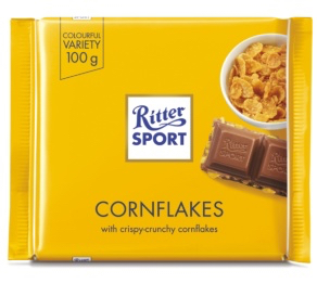 Ritter Sport - Milk Chocolate with Cornflakes Product Image