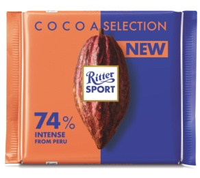 Ritter Sport - Cacao Dark Chocolate 74% Product Image