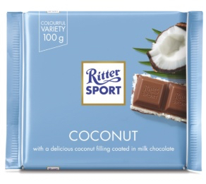 Ritter Sport - Milk Chocolate with Coconut Product Image