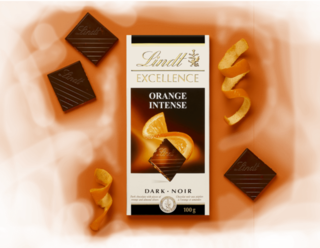 Lindt - Excellence Orange  Product Image